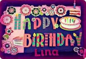 Happy Birthday Lina