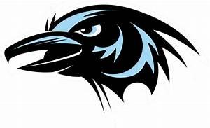 Raven Head Vector