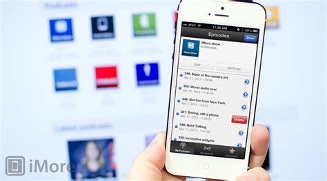 how to listen to podcasts on iphone how to delete podcast episodes in the podcasts app for