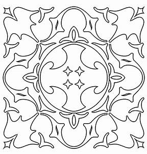 Free coloring pages of islamic designs