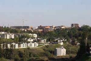 The Washington State University Campus seen from the north in May 2012 ... Washington