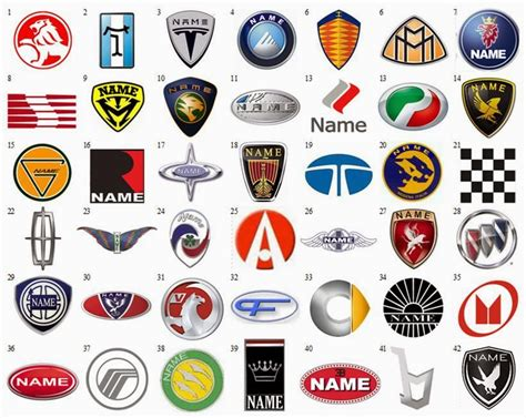 The Gallery For --> Car Company Logos List