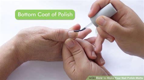 3 Ways To Make Your Nail Polish Matte