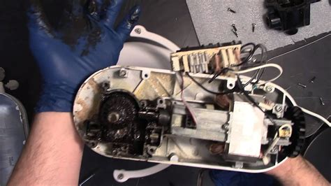 repair broken kitchenaid mixer worm gear  grease
