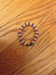 Rainbow loom hexafish. Very hard to make but a very cool ...