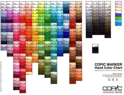 copic color chart s box of colours coloured copic chart