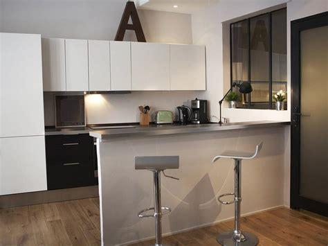 meuble bar cuisine americaine bar separation cuisine ouverte cuisine en image