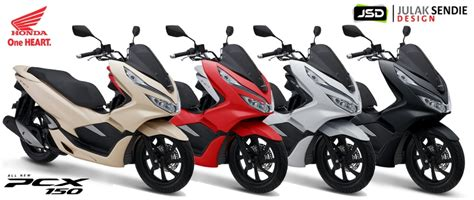 Pcx 2018 Thailand by All New Honda Pcx 2018 Julak Sendie Design