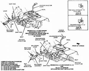 33 Ford Ranger Shift Linkage Diagram