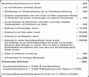 Abrechnung Prozesskostenhilfe : checkliste berechnungsschema zur ermittlung der ratenzahlungen bei pkh bewilligung ~ Themetempest.com Abrechnung