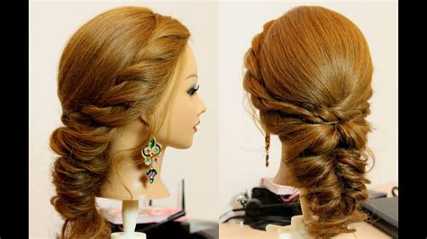 Easy everyday hairstyle for long medium hair tutorial