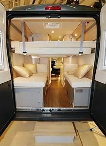Lit De Camping : etonnant b rstner city car c601 van lit de pavillon lectrique van life magazine ~ Teatrodelosmanantiales.com Idées de Décoration