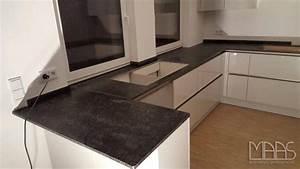 Arbeitsplatten Aus Granit : frankfurt steel grey k chenarbeitsplatte aus granit ~ Michelbontemps.com Haus und Dekorationen