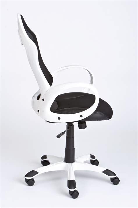 fauteuil de bureau blanc pas cher chaise de bureau