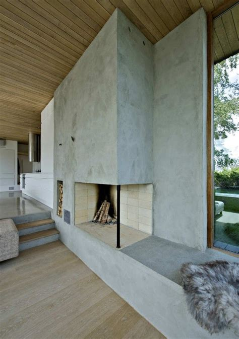 Concrete In Interior Design  Destination Living Feedpuzzle