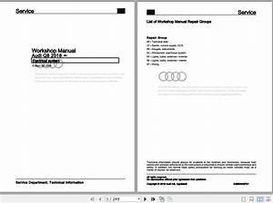 Audi Q8  Typ 4mn  2018-2020 Workshop  U0026 Repair Manual En - Homepage