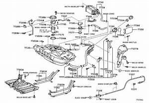 2005 Toyota Celica Clamp  Fuel Tube  No  1  Body  Interior