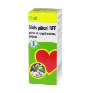 Sirds pilieni, 40 ml (RFF) - Mēness aptieka