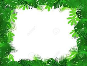 Jungle Leaf Border