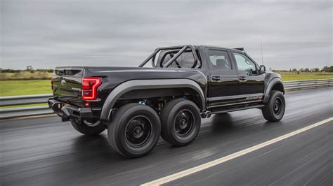 This 600hp 6x6 Truck Is The 2018 Hennessey Velociraptor