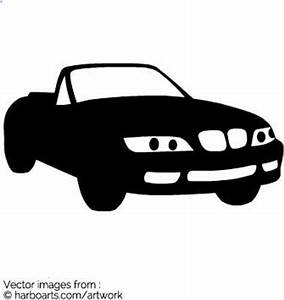 Download : BMW Cabriolet Silhouette - Vector Graphic