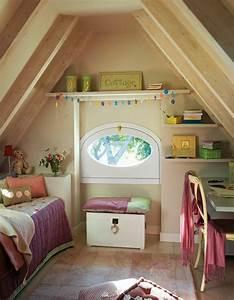 Kinderzimmer Mit Schreibtisch : kinderzimmer mit dachschr ge 29 tolle inspirationen f r ~ Michelbontemps.com Haus und Dekorationen