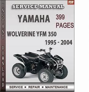 Yamaha Wolverine Yfm 350 1995