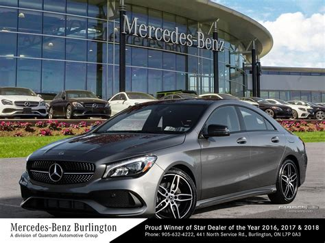 Both the 2019 cla250 and 2019 cla45 feature the sweeping, dramatic design that made them revolutionary. New 2019 Mercedes-Benz CLA250 4MATIC Coupe 4-Door Coupe in Burlington #1931429 | Mercedes-Benz ...