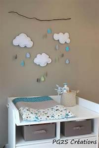 Decoration Nuage Chambre Bébé : chambre b b gar on nuage famille et b b ~ Teatrodelosmanantiales.com Idées de Décoration