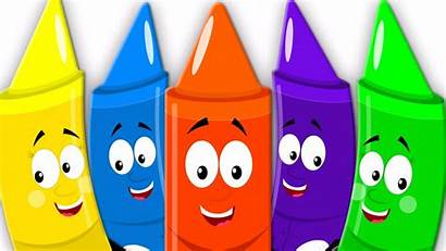Crayons Colors Song Five Nursery Learn