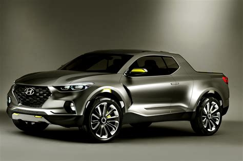 Photos Hyundai Santa Cruz Truck 2016 from article Future
