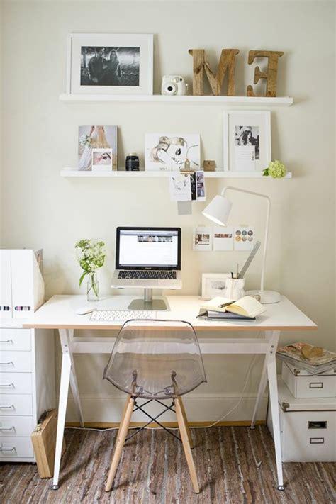 bureau d angle laqu blanc comment décorer un bureau laqué blanc 61 photos