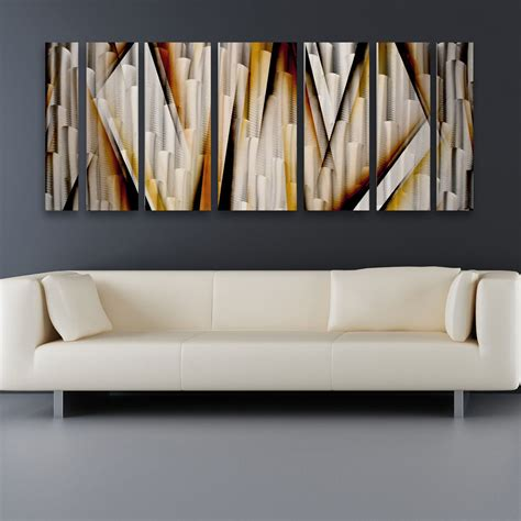 Modern Contemporary Abstract Metal Wall Art Sculpture