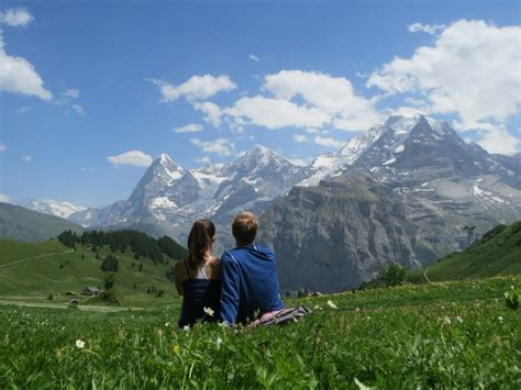 Honeymoon Destination Muren Switzerland Travel