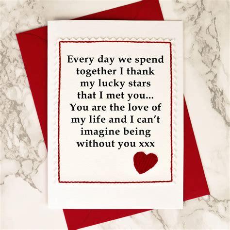 lucky stars handmade anniversary card  jenny arnott