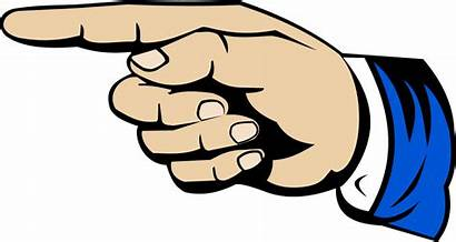 Pointing Finger Clipart Transparent Emoji Down Point
