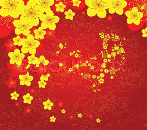 chinese  year powerpoint template festival collections