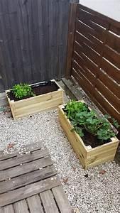 Fabriquer Grande Jardiniere Beton : construire une jardiniere en bois bien grande jardiniere pour terrasse realisation terrasse en ~ Melissatoandfro.com Idées de Décoration