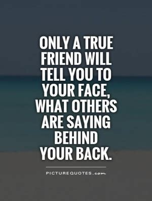 Quotes Talking Behind Someones Back