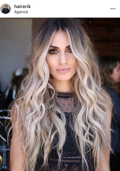 Blond Hairstyles by Ideas To Go Icy Balayage