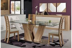 salle a manger contemporaine blanche inspirations et With salle À manger contemporaine avec meuble salle a manger blanc laqué