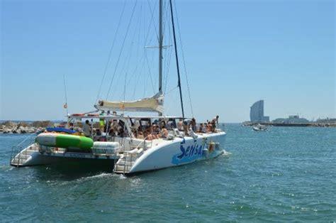 Catamaran Barcelona Tripadvisor by Salida Desde El Puerto Photo De Catamaran Sensation