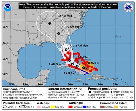 hurricane irma path   updates  puerto rico