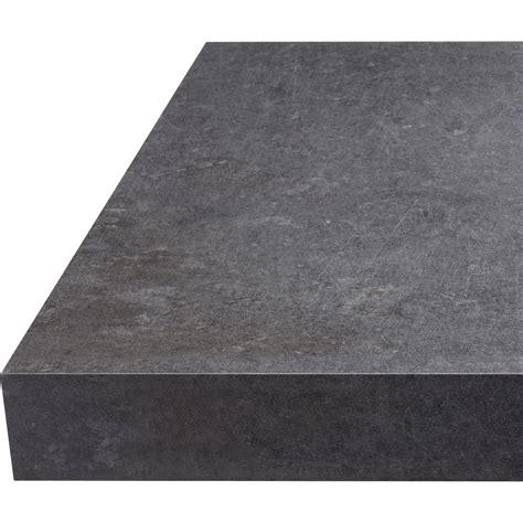 plan de travail stratifi 233 effet b 233 ton gris mat l 315 x p 65 cm ep 38 mm leroy merlin