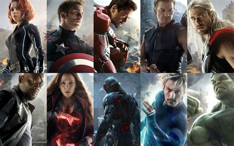characters    screen time  avengers age  ultron