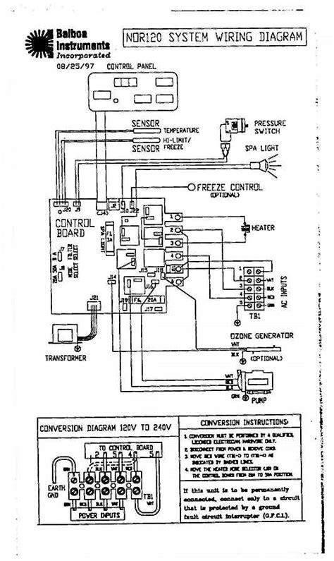 balboa wiring diagram tech tips