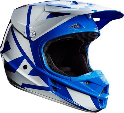 blue motocross helmet 169 95 fox racing mens v1 race dot approved motocross mx