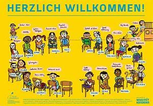 Herzlich Willkommen Bilder Zum Ausdrucken : fl chtlinge archive ~ Eleganceandgraceweddings.com Haus und Dekorationen