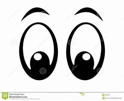 Eyes Cartoon Clipart Royalty Clip Looking Eye