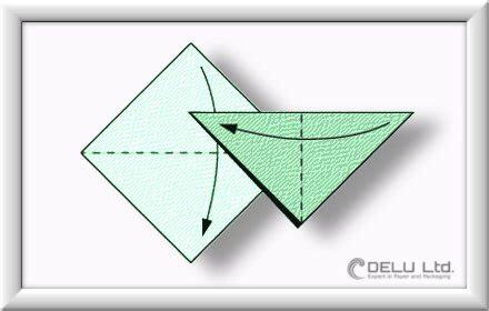 anleitung um einen wundersch 246 nen origami kranich zu falten